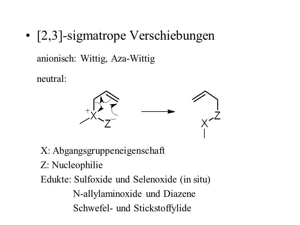 [2,3]-sigmatrope Verschiebungen